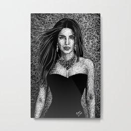 Priyanka Chopra Metal Print