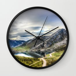 Enol, the Lakes of Covadonga Wall Clock
