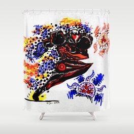 Phazon Suit Samus Shower Curtain