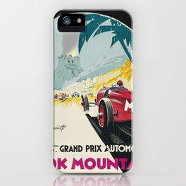 DK Mountain Grand Prix iPhone Case