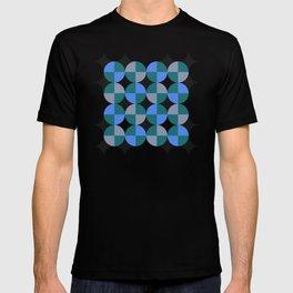 NeonBlu Squares T-shirt