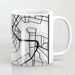 New Orleans Light City Map Coffee Mug