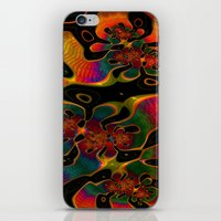 trippy iPhone & iPod Skins featuring Trippy by Amanda Moore