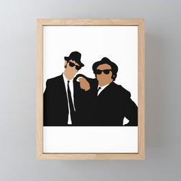 The Blues Brothers 80s movie Framed Mini Art Print