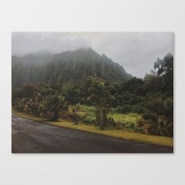 Rustic Mountains Canvas Print