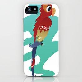 Little Parrot iPhone Case