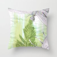 bugs Throw Pillows featuring Bugs by Marlidesigns