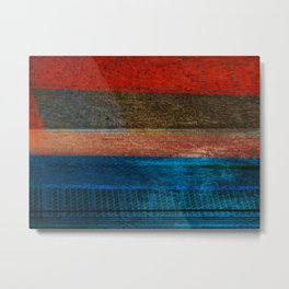 Chalked Filthy And Worn Metal Print