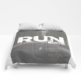 Run Cheaper Than Therapy Running Runners Treatment Comforters