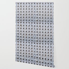 Background. Metallic grid. Urban and grunge. Wallpaper