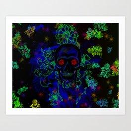Skull Art Art Print