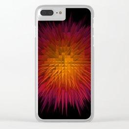 SunExplode Clear iPhone Case