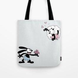 Oswald the Lucky Rabbit: Flowers for Ortensia Tote Bag