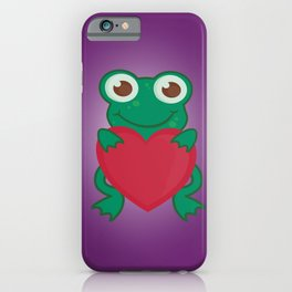 Love Frogs iPhone Case