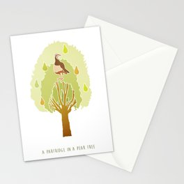 Partridge in a Pear Tree Stationery Cards