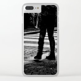 Crosswalk Clear iPhone Case
