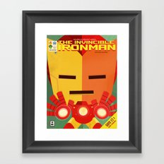 ironman fan art Framed Art Print