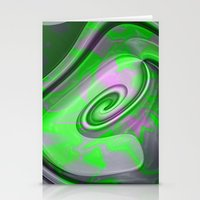 "malachite Stationery Cards featuring "" Malachite ""  by shiva camille"