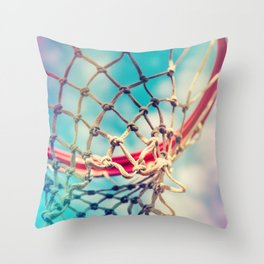 The Object Of Basketball Throw Pillow