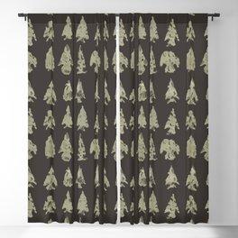 Arrow Heads Blackout Curtain