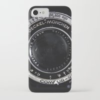 vintage camera iPhone & iPod Cases featuring Camera by Katherine Ridgley
