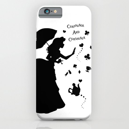 Curiouser and Curiouser iPhone & iPod Case