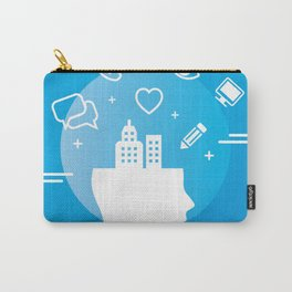 Mind Your Business HV Carry-All Pouch
