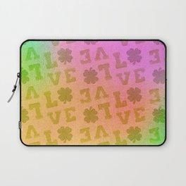 St. Patrick's Metallic Pattern Laptop Sleeve