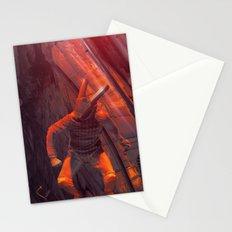 Orange Rabbit Stationery Cards