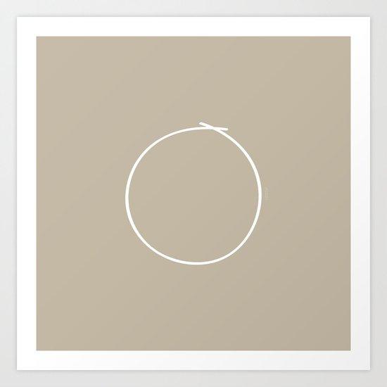 Metal - Minimal FS - by Friztin Art Print