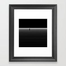 I bet you look good on the dance floor Framed Art Print