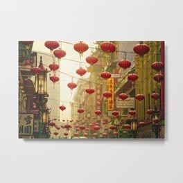 Land of 1000 Lanterns Metal Print