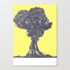 atomic Canvas Print