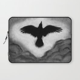 Flight of the Crow Laptop Sleeve