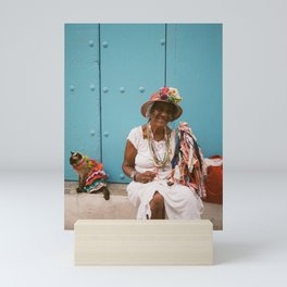 The Colourful Woman Mini Art Print