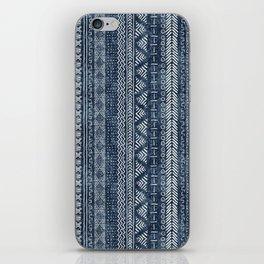 Mud Cloth Stripe iPhone Skin