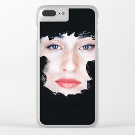 Trapped Clear iPhone Case
