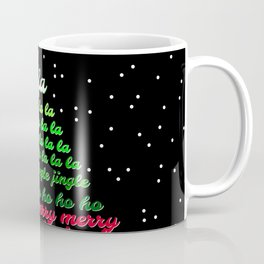 Fa la la Joy Christmas Coffee Mug