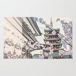 Senso Ji Tokyo Japan Rug