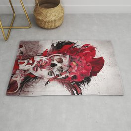 Poisonous Flowers Rug