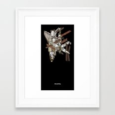 Atlantis/Mir Framed Art Print
