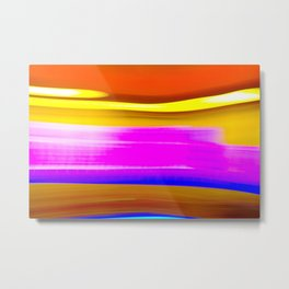 Abstrat colors Metal Print