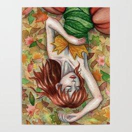 Autumn Girl Poster