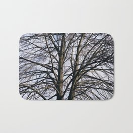 Stained Glass Tree Bath Mat