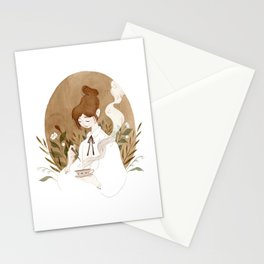 Tea Witch Stationery Cards
