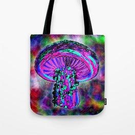 Trippy Shroom Tote Bag