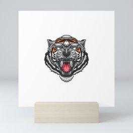 Tiger Robotic Mini Art Print