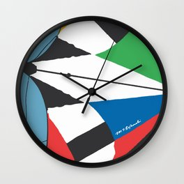 Kite—Sky Blue Wall Clock
