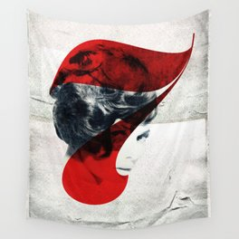 Seven PinUp Retro Girl Wall Tapestry
