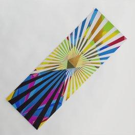 Polygons Yoga Mat